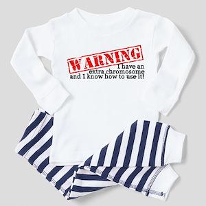 Warning Toddler Pajamas