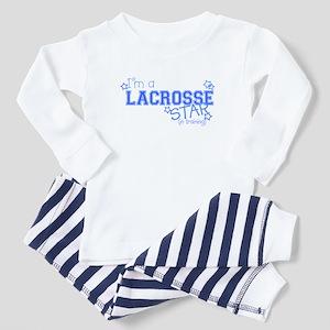 Lacrosse star Toddler Pajamas