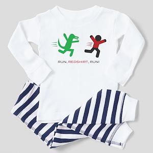 Run, Redshirt, Run! Toddler Pajamas