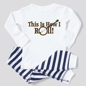 How I (Banjo) Roll! Toddler Pajamas