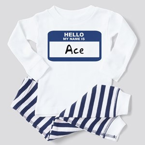 Hello: Ace Toddler Pajamas