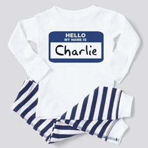 Hello: Charlie Toddler Pajamas