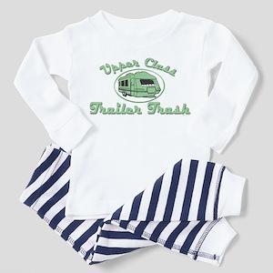 Upper Class Trailer Trash Toddler Pajamas