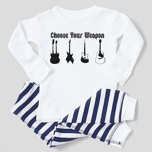 Choose Your Weapon Toddler Pajamas