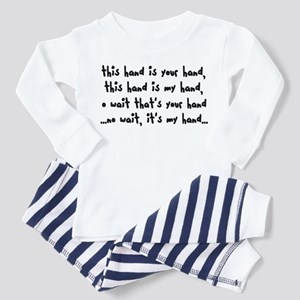 'The Hand Song' Toddler Pajamas