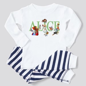 ALICE AND FRIENDS Toddler Pajamas