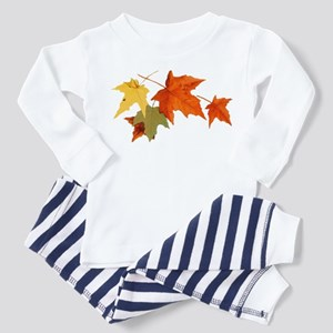 Autumn Colors - One Side Toddler Pajamas