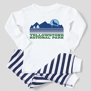 Yellowstone National Park Toddler Pajamas