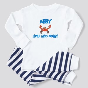 Abby - Little Miss Crabby Toddler Pajamas