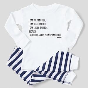 Phunny Language. Toddler Pajamas