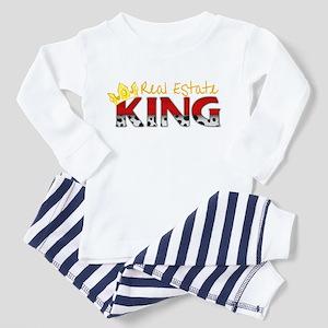 Real Estate King Toddler Pajamas