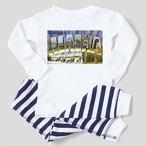 Alaska Greetings (Front) Toddler Pajamas