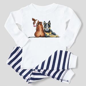 ACD and Cow Pajamas