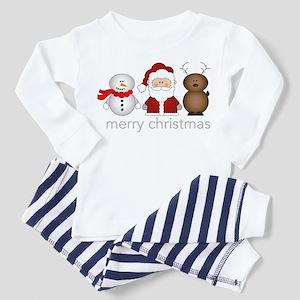Merry Christmas Characters Toddler Pajamas