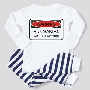 Attitude Hungarian Toddler Pajamas