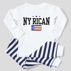NY Rican Toddler Pajamas