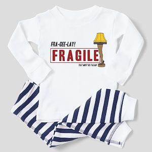Fragile - That must be Italian Toddler Pajamas