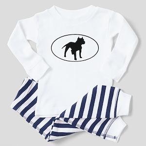 Pit Bull Toddler Pajamas