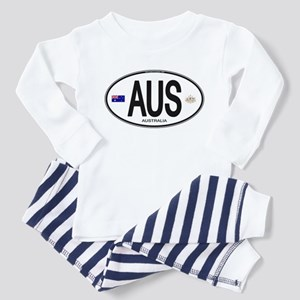 Australia Intl Oval Toddler Pajamas