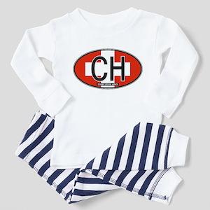 Switzerland Colors Toddler Pajamas