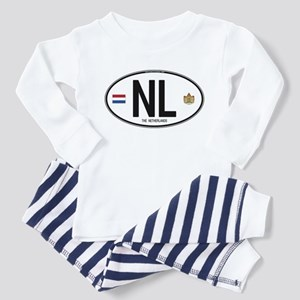 Netherlands Intl Oval Toddler Pajamas