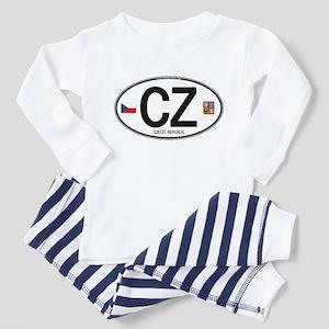 Czech Republic Euro Oval Toddler Pajamas