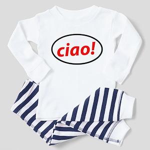 Ciao Italian Toddler Pajamas