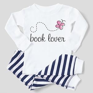 Cute Book Lover Toddler Pajamas