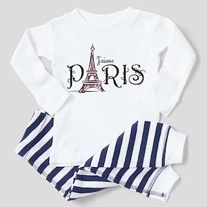 J'aime Paris Toddler Pajamas