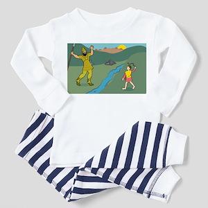 David and Goliath Toddler Pajamas