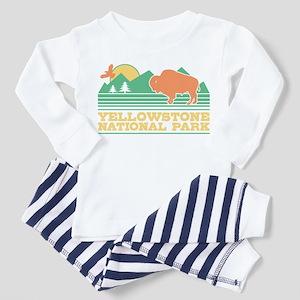 Yellowstone National Park Women's Dark Pajamas