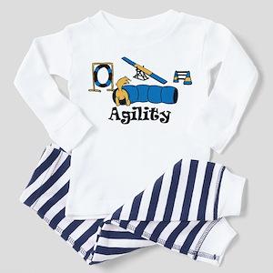 Agility Dog Toddler Pajamas