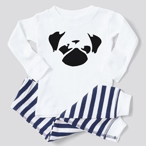 Cutie Pug Toddler Pajamas