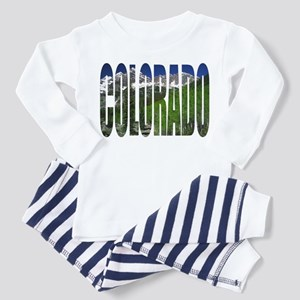 Colorado Mountains - Ash Grey Pajamas