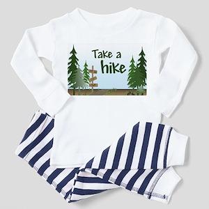 Take a hike Toddler Pajamas