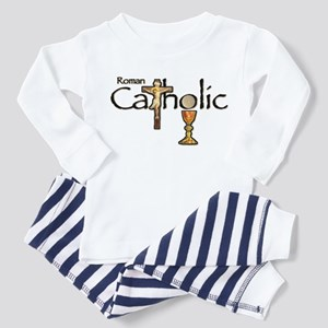 Proud to be Catholic Toddler Pajamas