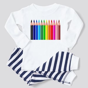 Color Pencils Toddler Pajamas
