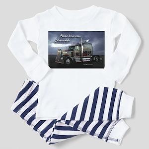 Truckers Toddler Pajamas