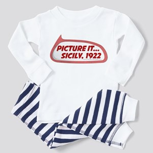 Picture It... Sicily, 1922 Infant/Toddler Pajamas