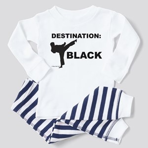 Destination Black 1 Pajamas