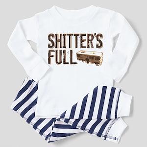 Shitter's Full Toddler Pajamas