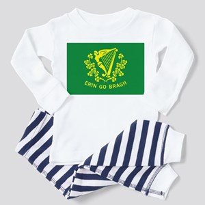 Erin Go Bragh Flag Toddler Pajamas