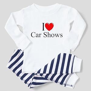 """I Love (Heart) Car Shows"" Toddler Pajamas"