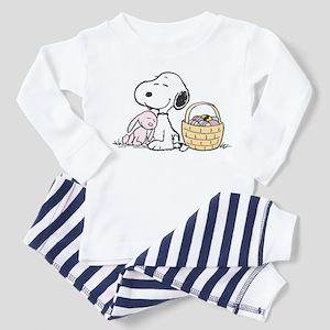 Beagle and Bunny Toddler Pajamas