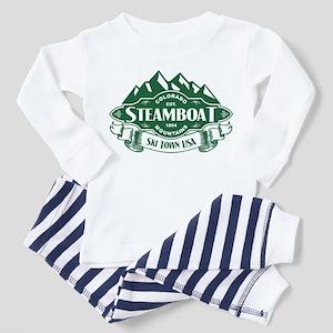 Steamboat Mountain Emblem Toddler Pajamas