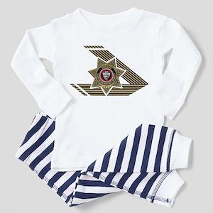 Sheriff San Bernardino Toddler Pajamas