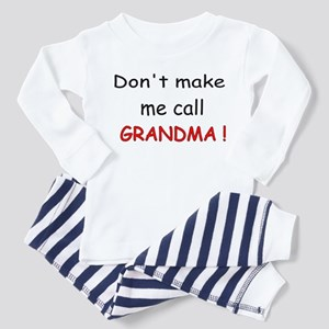 call GRANDMA! Toddler Pajamas