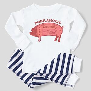 Porkaholic Toddler Pajamas