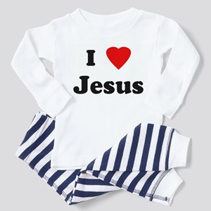 I Love Jesus Toddler Pajamas