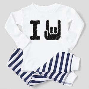I Rock Toddler Pajamas